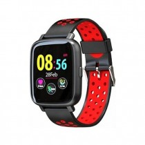 SMARTWATCH BILLOW SPORT WATCH XS35 NEGRO ROJO