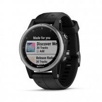 SMARTWATCH GARMIN SPORT WATCH GPS FENIX 5S PLUS BK