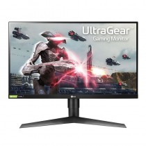 Monitor gaming lg 27gl650f-b - 27'/68.5cm - 1920*1080 full hd - 16:9 - 400cd/m2 - 1ms (mbr) - 2*hdmi - displayport - pivotante