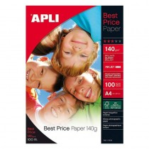 pPapel fotografico BEST PRICE No hay nada igual en el mercado Calidad a un precio insuperablebrul liMedidas 210 x 297mm li liTa