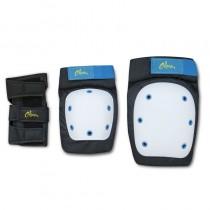 pKit de proteccion para cualquier producto de movilidad urbana compuesto por coderas rodilleras y protecciones de manobr p