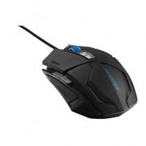 pMEDION ERAZER X81044 Raton Gaming para juegos con cable sensor laser 7 botones del mouse OMRON rueda de desplazamiento ilumina