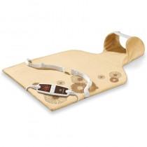 pEsta almohadilla electronica con forma anatomica esta pensada para aplicar calor a determinadas zonas como el cuello y la espa