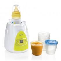 pCalentador de biberones y calienta papilla digitalbrbrulli2 en 1 para calentar el biberon de leche y calentar vasitos y conten