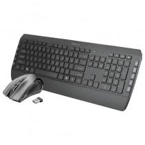 pTeclado inalambrico con teclas silenciosas de perfil bajo y raton de uso facil y comodobrh2Ganando eficiencia h2El teclado mul