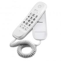 h2Teleacutefono fijo compacto h2brEl SPCtelecom 3601 es un divertido teleacutefono con un tecladomuy grande para facilitar la m