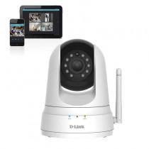 pLa camara D Link DCS 5000L posee una lente motorizada que permite controlar en remoto amplias areas Puede ver en completa oscu