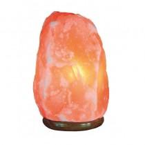 pulliLa lampara de sal del Himalaya de Jocca genera una relajante y tenue luz anaranjada Ademas de aportar un toque etnico y or