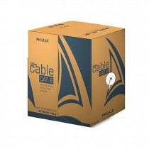 CABLE RED UTP CAT6 RJ45 PHASAK 305 GRIS