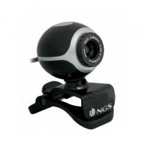 Completa webcam con sensor CMOS de 300Kpx El zoom el seguimientofacial y la velocidad de transmision de datos permiten realizar