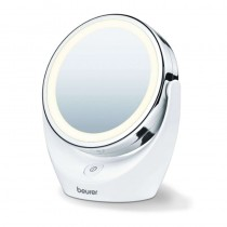PEl espejo de maquillaje con luz es el accesorio perfecto para el cuarto de bano La superficie reflectante se puede girar al la