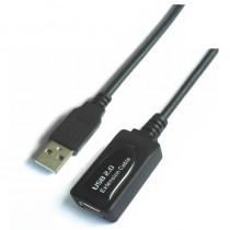 pAISENS 8211 Cable Extension USB 20 prolongador con amplificador tipo A Macho a tipo A Hembra 50 metros con chipset avanzado pa