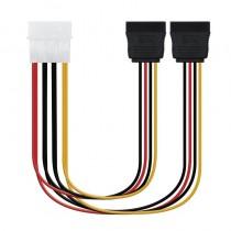 pul li h2Especificacion h2 li liIdeal para convertir un conector Molex 4 pin a dos conectores sata alimentacion li liLongitud 0