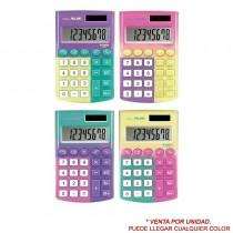 pul liCalculadora de bolsillo de 8 digitos edicion Sunset li liTeclas con tacto suave 3 teclas de memoria y raiz cuadrada li li