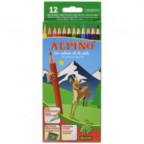 pTodo un clasico Pack de 12 lapices de colores con bandeja interior extraible mas comodo Ideales para uso escolar Lapiz hexagon