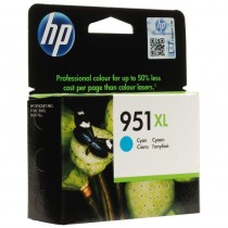 ph2Cartucho de tinta cian HP 951XL Officejet h2 pul liEl cartucho de tinta cian HP 951XL Officejet imprime con color de calidad