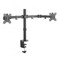pAISENS 8211 Soporte de mesa eco giratorio e inclinable para monitor TV 3 pivotes 2 brazos de 138221 328221 Fabricado con acero