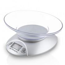 pul liPeso de cocina electroniconbsp li liDisplay LCD 175mm li liBol transparente li liCapacidad max 3kg li liEscalado 1g li li