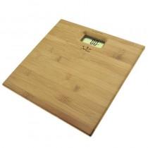 pLa bascula electronica de bambu modelo 489 con superficie en bambu prensado de 12 mm cuenta ademas con un visor LCD de gran ta