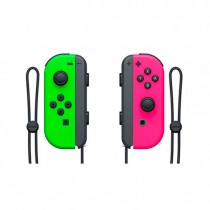 GAMEPAD NINTENDO SWITCH JOY CON VERDE ROSA