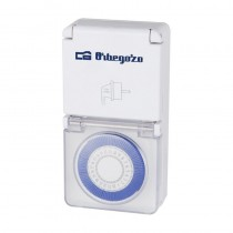 pul liProgramador 24h li liTapas protectoras que permiten su uso en exterior IP 44 li liReduce el consumo li liProgramador diar