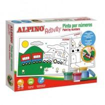 pEstuche Alpino Activity Colores surtidosbrbrbIncluye bbrul li5 Botes de temperas li li6 laminas para colorear li liGuia de uso