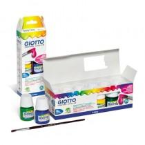 pPinturas de alta calidad en botes de 25 ml Tempera base agua con una excelente cobertura e ideales para decorar papel carton m