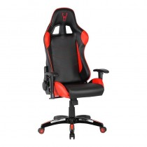 pSilla gaming ergonomica con altura e inclinacion ajustable piston de Gas clase 4 y reposabrazos 2D Stinger Station RedbrRealiz