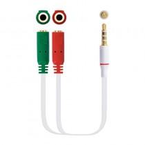 pul liIdeal para conectar auriculares y microfono a un dispositivo con un solo puerto de audio con jack 35 de 4 pines li liFabr