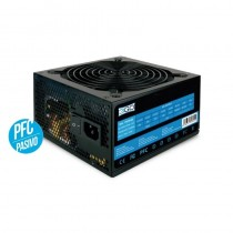 PPFuente de alimentacion de 600w en formato ATX valida para equipos intel y amd de gama mediaBRDispone de un ventilador de 12cm