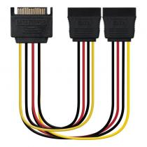 pul libEspecificacion b li liIdeal para convertir un conector SATA a dos conectores SATA alimentacion li liLongitud 30 cm li li