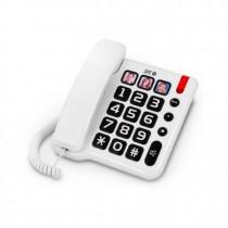 TELEFONO FIJO SPC COMFORT NUMBERS BLANCO