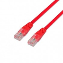 CABLE RED UTP CAT6 RJ45 AISENS 1M ROJO