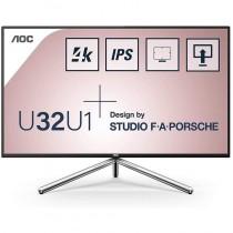 pCon un elegante diseno de Studio FA Porsche el U32U1 cuenta con un panel IPS de 3158221 en 4K Vesa DisplayHDR 600 y una cobert