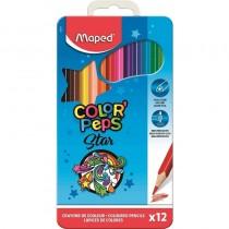 pul liEstuche de metal de lapices de colores li li12 lapices en colores vivos li liEl estuche tiene asa li liMina blanda y resi