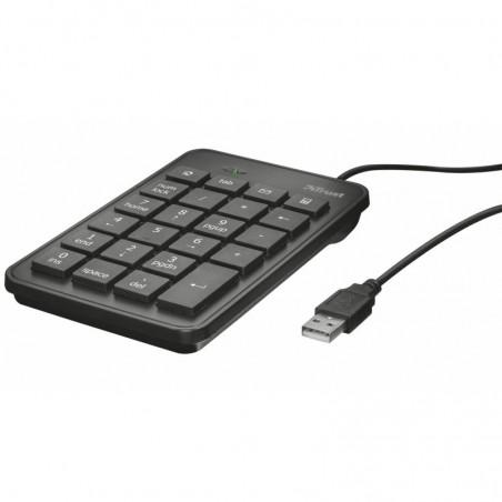 pElegante teclado numerico ultradelgado para facilitar la entrada de datos numericos en cualquier portatil con Windowsbrbrul li