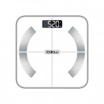 BASCULA BILLOW XFIIT BODY BLANCO PANTALLA LED 6KG 180KG APP